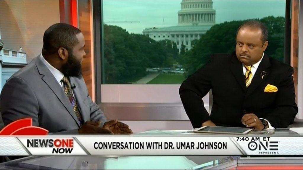 Dr. Umar Johnson vs Roland Martin and Panelists