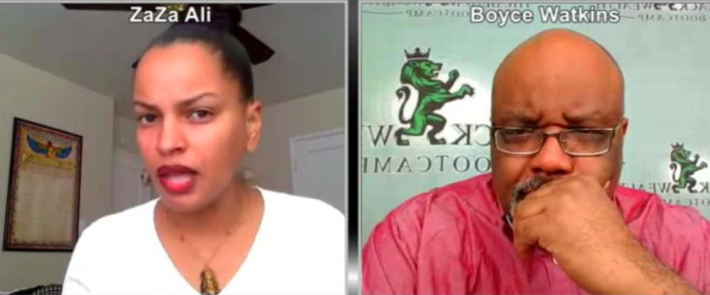 Dr. Boyce Watkins Sued for Fraud & ZaZa Ali On the Hot Seat