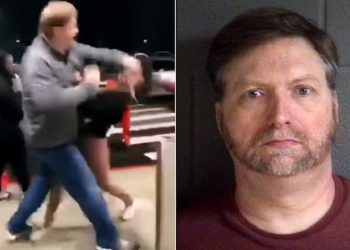250 lb white man who punched 11-year-old Black girl
