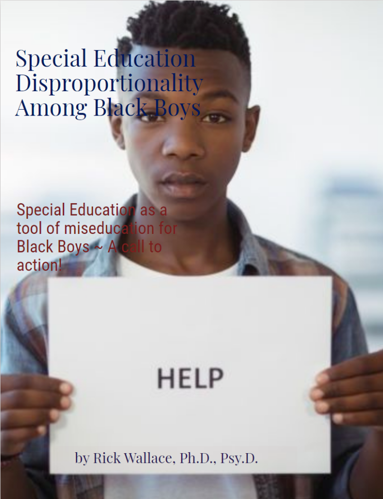 Special Education Disproportionality Among Black Boys