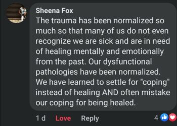 The Normalization of Trauma and Its Long-reaching Effects